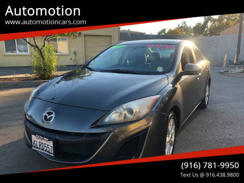 2010 Mazda MAZDA3 for sale at Automotion in Roseville CA