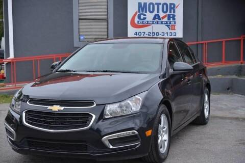 2016 Chevrolet Cruze Limited for sale at Motor Car Concepts II - Kirkman Location in Orlando FL