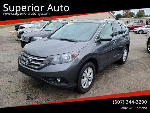 2014 Honda CR-V for sale at Superior Auto in Cortland NY