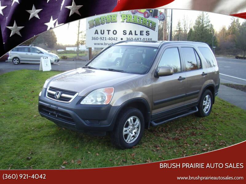 2003 Honda CR-V for sale at Brush Prairie Auto Sales in Battle Ground WA