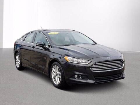 2015 Ford Fusion for sale at Jimmys Car Deals in Livonia MI
