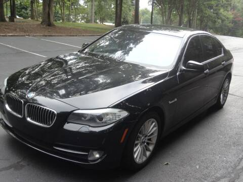 2012 BMW 5 Series for sale at HAPPY TRAILS AUTO SALES LLC in Taylors SC