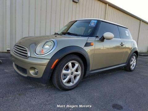 2009 MINI Cooper for sale at Matt Hagen Motors in Newport NC