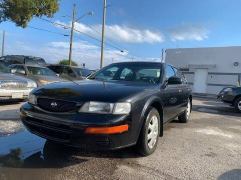 1996 Nissan Maxima for sale at YID Auto Sales in Hollywood FL
