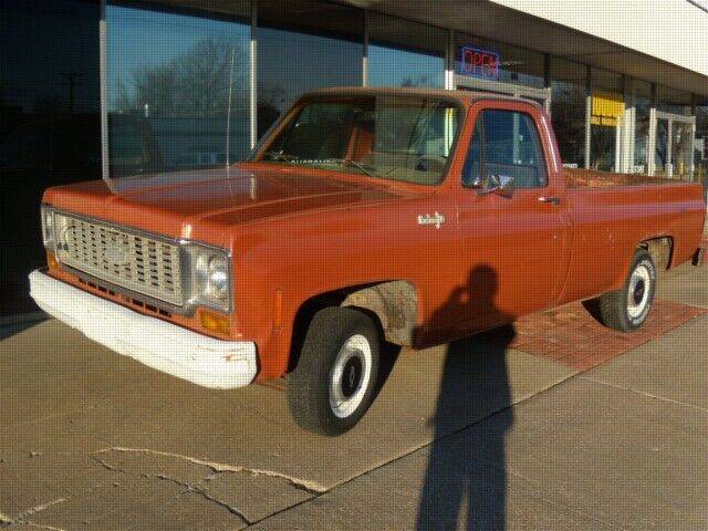 1974 Chevrolet C/K 10 Series for sale at PERL AUTO CENTER in Coffeyville KS