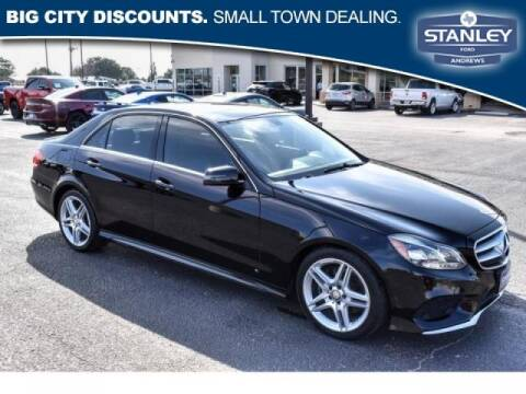 2014 Mercedes-Benz E-Class for sale at STANLEY FORD ANDREWS in Andrews TX