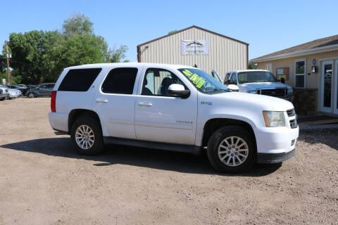 2009 Chevrolet Tahoe for sale at Northern Colorado auto sales Inc in Fort Collins CO