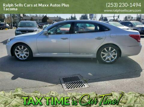 2013 Hyundai Equus for sale at Ralph Sells Cars at Maxx Autos Plus Tacoma in Tacoma WA