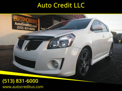 2009 Pontiac Vibe for sale at Auto Credit LLC in Milford OH