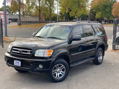 2003 Toyota Sequoia for sale at KAS Auto Sales in Sacramento CA