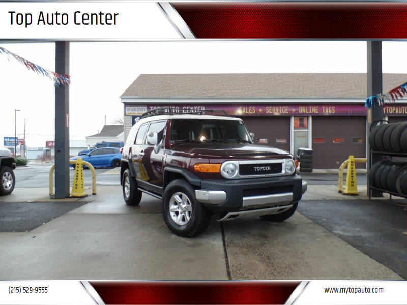 2007 Toyota FJ Cruiser for sale at Top Auto Center in Quakertown PA