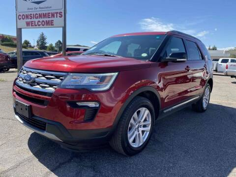 2018 Ford Explorer for sale at BERKENKOTTER MOTORS in Brighton CO
