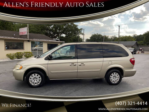 2005 Chrysler Town and Country for sale at Allen's Friendly Auto Sales in Sanford FL