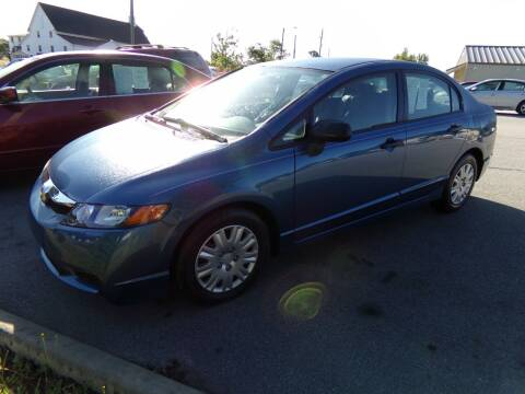 2010 Honda Civic for sale at Creech Auto Sales in Garner NC
