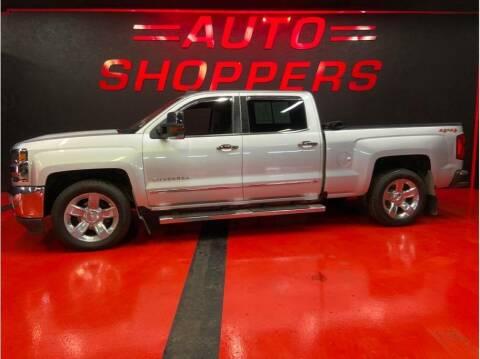 2018 Chevrolet Silverado 1500 for sale at AUTO SHOPPERS LLC in Yakima WA