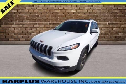 2017 Jeep Cherokee for sale at Karplus Warehouse in Pacoima CA