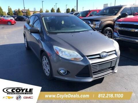 2012 Ford Focus for sale at COYLE GM - COYLE NISSAN - New Inventory in Clarksville IN