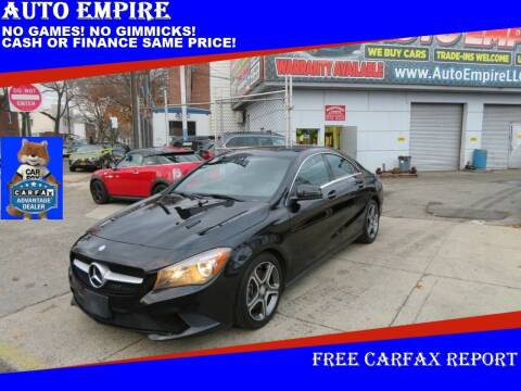 2014 Mercedes-Benz CLA for sale at Auto Empire in Brooklyn NY