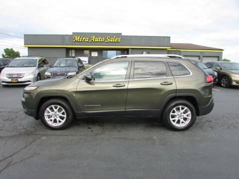 2016 Jeep Cherokee for sale at MIRA AUTO SALES in Cincinnati OH