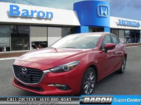 2018 Mazda MAZDA3 for sale at Baron Super Center in Patchogue NY