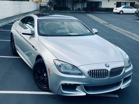 2012 BMW 6 Series for sale at BSL Bay Sport & Luxury in Redwood City CA