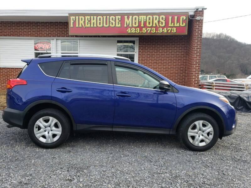 2015 Toyota RAV4 for sale at Firehouse Motors LLC in Bristol TN