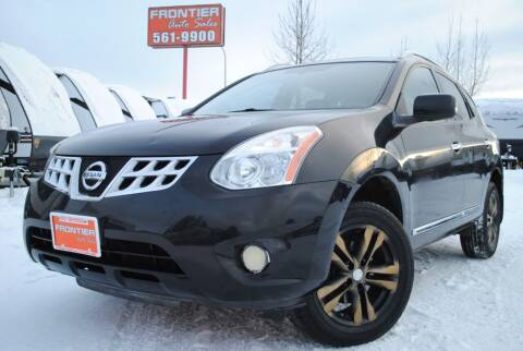 2012 Nissan Rogue for sale at Frontier Auto & RV Sales in Anchorage AK