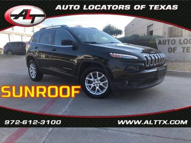 2016 Jeep Cherokee for sale at AUTO LOCATORS OF TEXAS in Plano TX