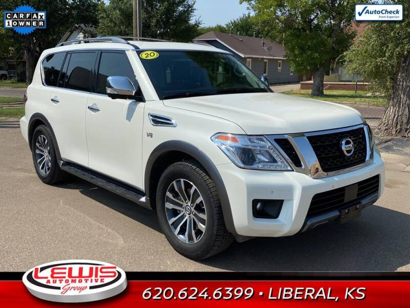 2020 Nissan Armada for sale at Lewis Chevrolet Buick of Liberal in Liberal KS