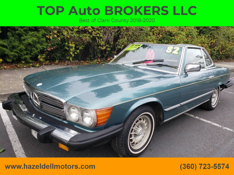 1982 Mercedes-Benz 380-Class for sale at TOP Auto BROKERS LLC in Vancouver WA