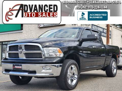 2012 RAM Ram Pickup 1500 for sale at Advanced Auto Sales in Tewksbury MA