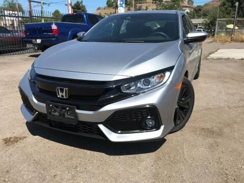2019 Honda Civic for sale at Vtek Motorsports in El Cajon CA