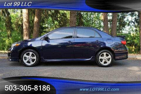 2011 Toyota Corolla for sale at LOT 99 LLC in Milwaukie OR