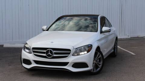 2016 Mercedes-Benz C-Class for sale at Private Club Motors in Houston TX