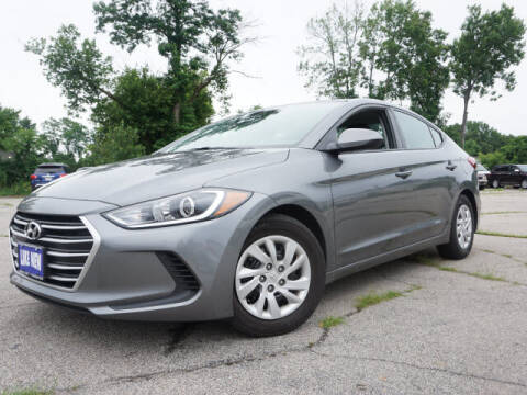 2018 Hyundai Elantra for sale at AutoCredit SuperStore in Lowell MA
