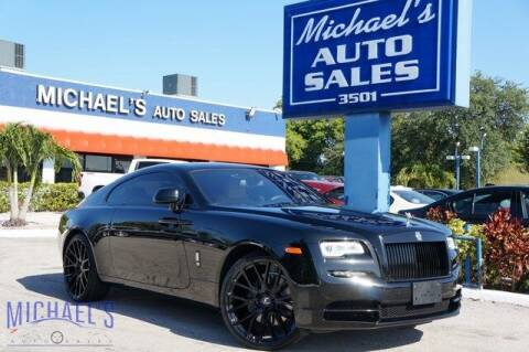 2017 Rolls-Royce Wraith for sale at Michael's Auto Sales Corp in Hollywood FL