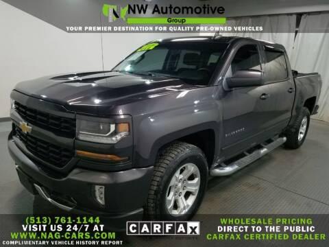 2016 Chevrolet Silverado 1500 for sale at NW Automotive Group in Cincinnati OH