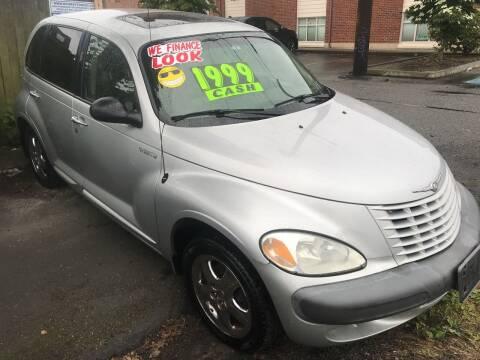 2001 Chrysler PT Cruiser for sale at American Dream Motors in Everett WA