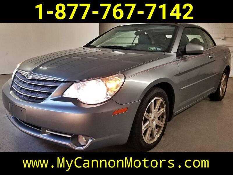 2008 Chrysler Sebring for sale at Cannon Motors in Silverdale PA