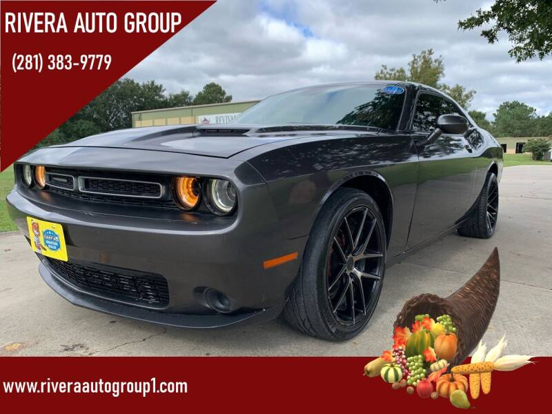 2016 Dodge Challenger for sale at Rivera Auto Group in Spring TX