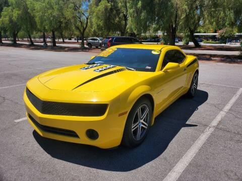2012 Chevrolet Camaro for sale at ALL CREDIT AUTO SALES in San Jose CA
