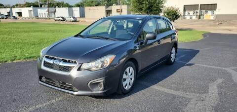 2014 Subaru Impreza for sale at Image Auto Sales in Dallas TX