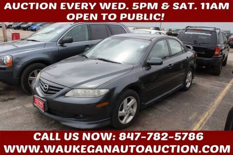 2003 Mazda MAZDA6 for sale at Waukegan Auto Auction in Waukegan IL