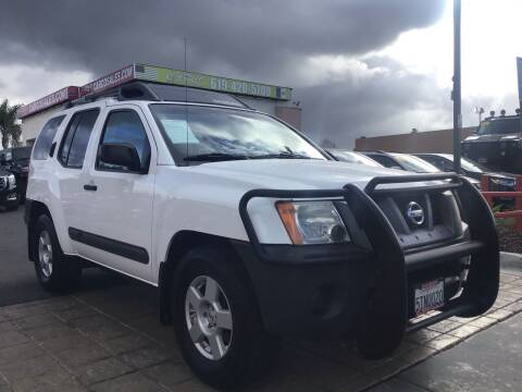 2005 Nissan Xterra for sale at CARCO SALES & FINANCE in Chula Vista CA