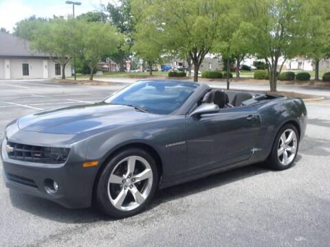2011 Chevrolet Camaro for sale at Uniworld Auto Sales LLC. in Greensboro NC