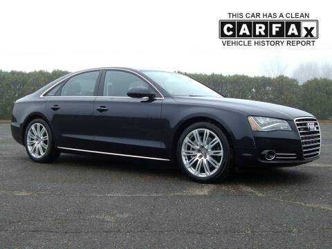 2013 Audi A8 for sale at Atlantic Car Company in East Windsor CT