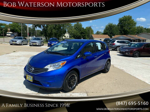 2015 Nissan Versa Note for sale at Bob Waterson Motorsports in South Elgin IL