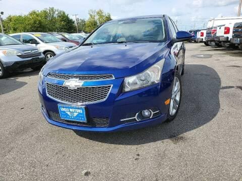 2013 Chevrolet Cruze for sale at Eagle Motors in Hamilton OH