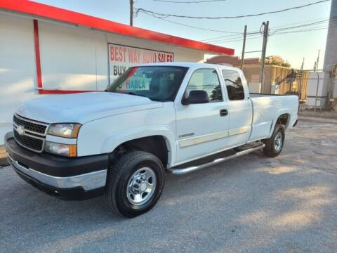 2006 Chevrolet Silverado 2500HD for sale at Best Way Auto Sales II in Houston TX
