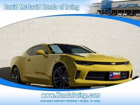 2017 Chevrolet Camaro for sale at DAVID McDAVID HONDA OF IRVING in Irving TX